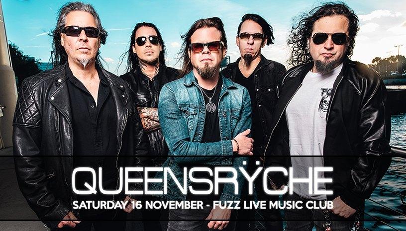 Οι Queensryche στο Fuzz