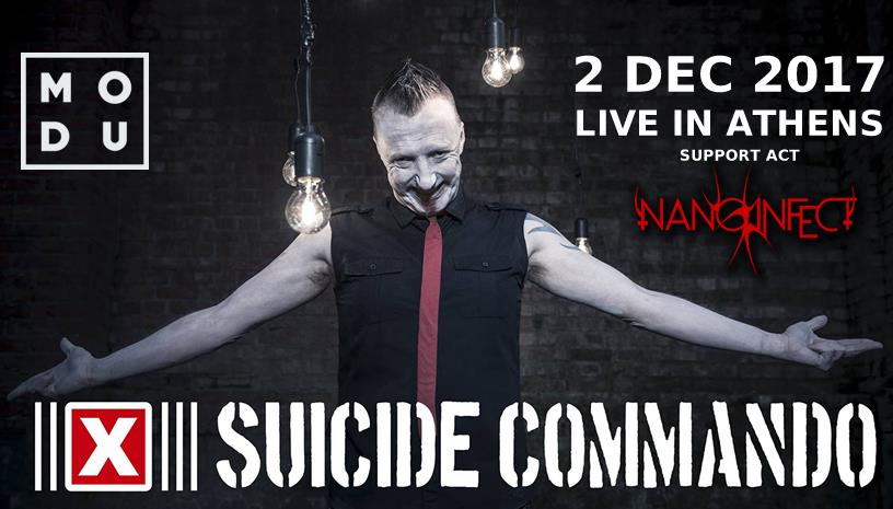 Suicide Commando ζωντανά στην Αθήνα!