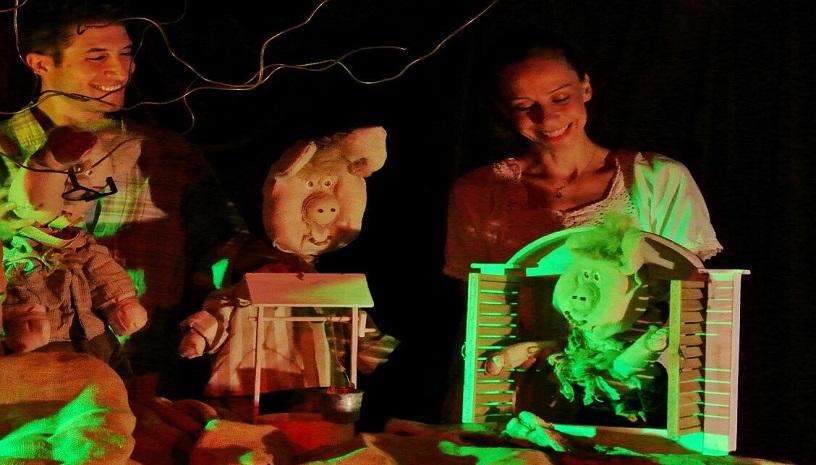 «Τα Τρία Γουρουνάκια» ζωντανεύουν στη σκηνή του θεάτρου Χώρος Τέχνης Ασωμάτων