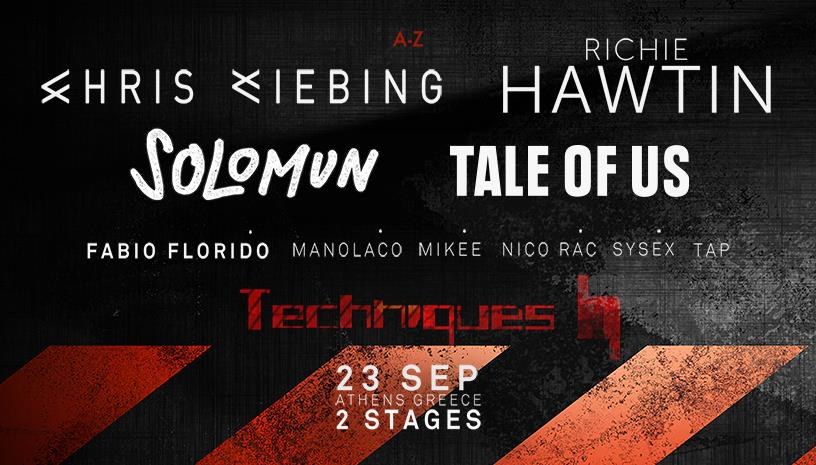 Blend Techniques: Chris Liebing / Richie Hawtin / Solomun / Tale Of Us
