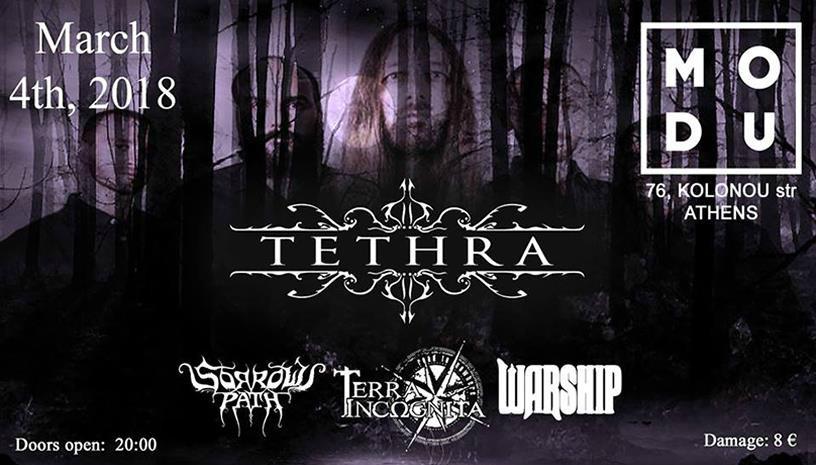 TETHRA, SORROWS PATH,TERRA INCΩGNITA, WARSHIP