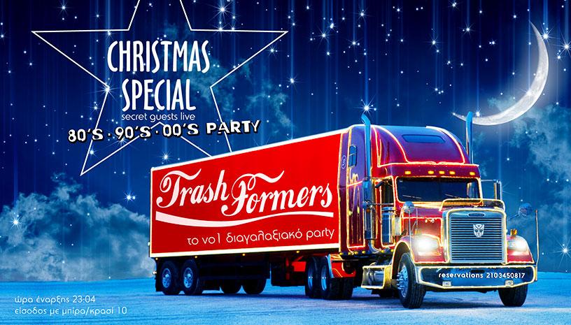 Trashformers Christmas Special Party