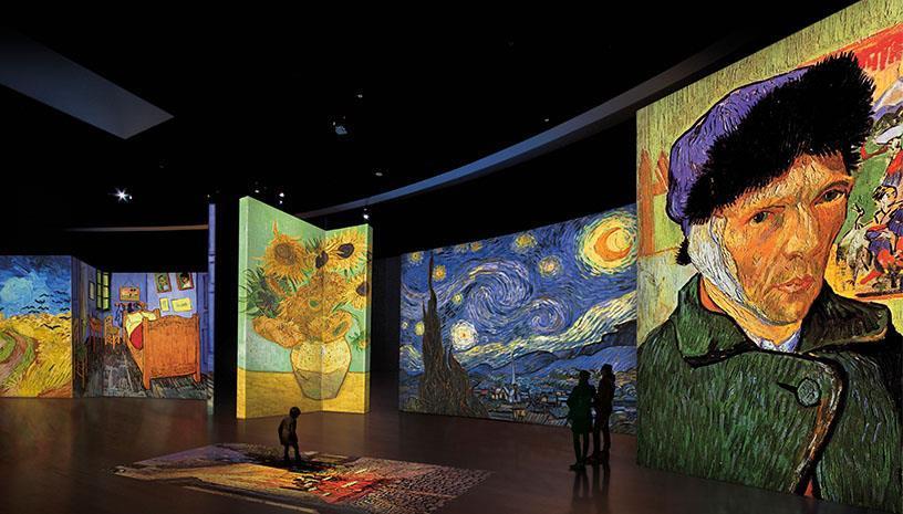 Η διάσημη έκθεση Van Gogh Alive στην Θεσσαλονίκη
