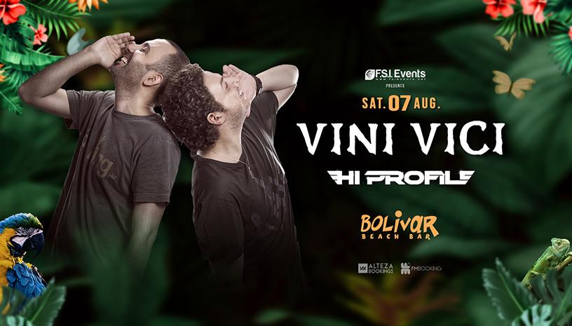 Vini Vici ‑ Hi Profile στο Bolivar Beach Bar