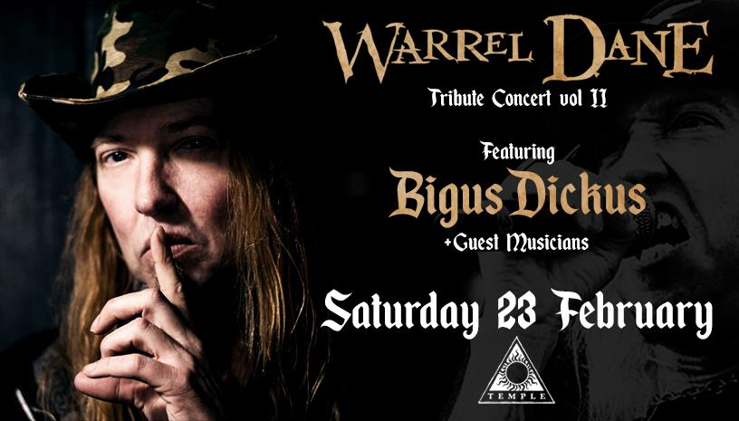 Warrel Dane live tribute at Temple