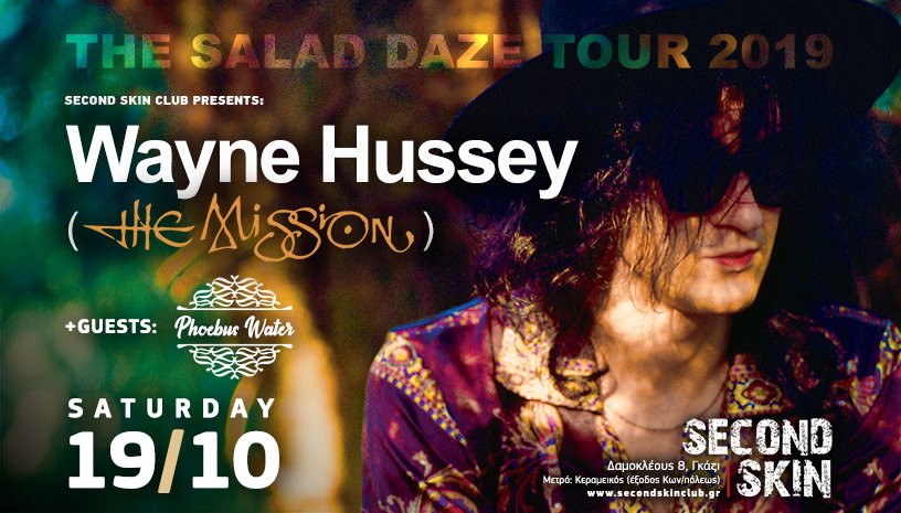 WAYNE HUSSEY (THE MISSION) ACOUSTIC SHOW