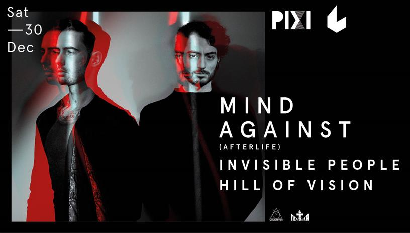 Pixi w/ Mind Against at six d.o.g.s