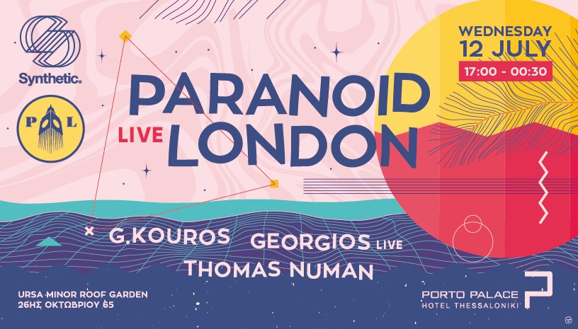 Synthetic rooftop w/ Paranoid London