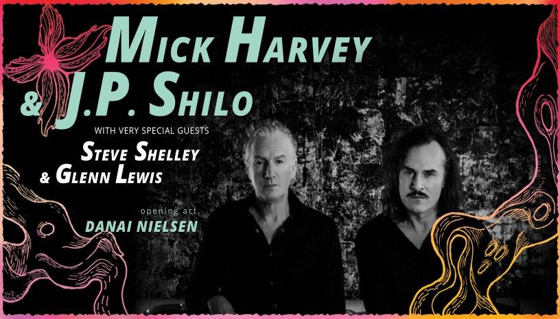 Οι Mick Harvey  J.P. Shilo και Steve Shelley στο Soundtrope Festival