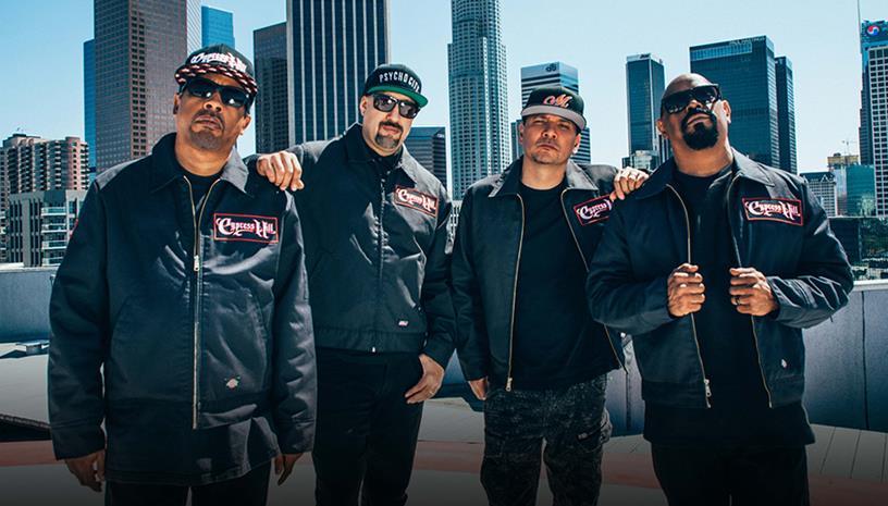 Οι θρυλικοί Cypress Hill έρχονται τον Ιούνιο στην Θεσσαλονίκη